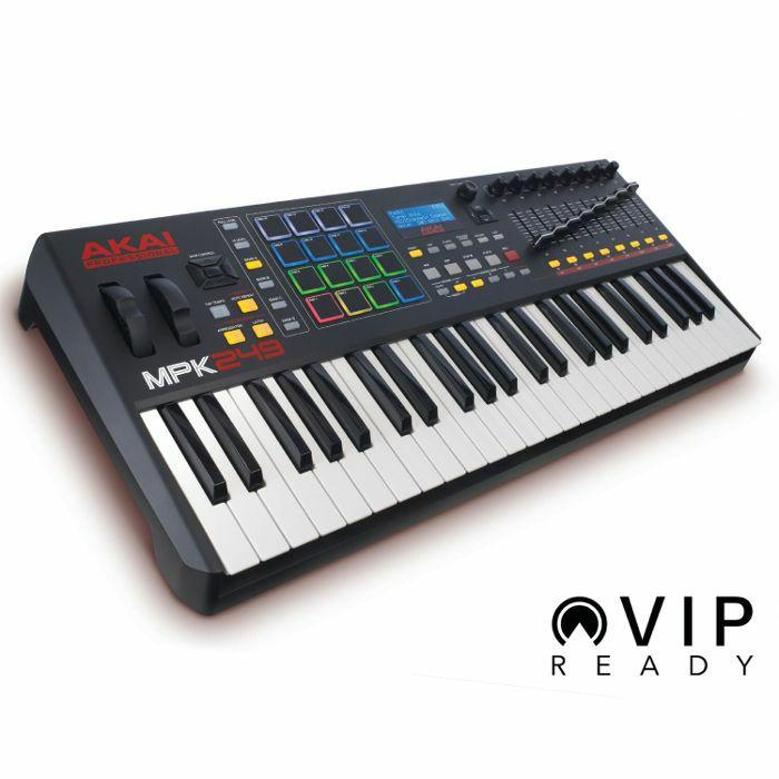 AKAI - Akai MPK249 Performance USB MIDI Pad & Keyboard Controller With Ableton Live Lite Software