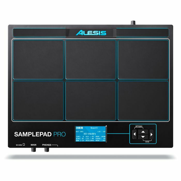ALESIS - Alesis SamplePad Pro Percussion Pad With Onboard Sound Storage