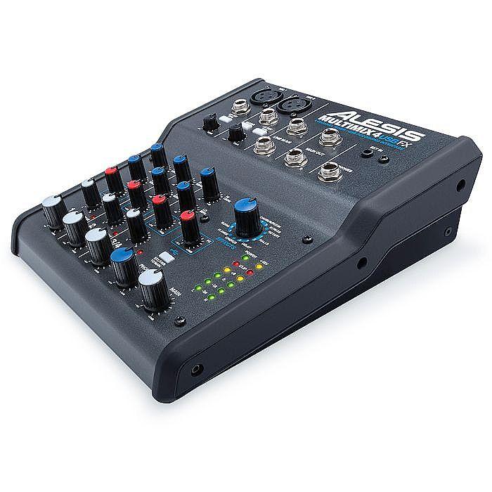 alesis multimix 4 usb fx 4 channel mixer with cubase 7 le audio production so ebay. Black Bedroom Furniture Sets. Home Design Ideas