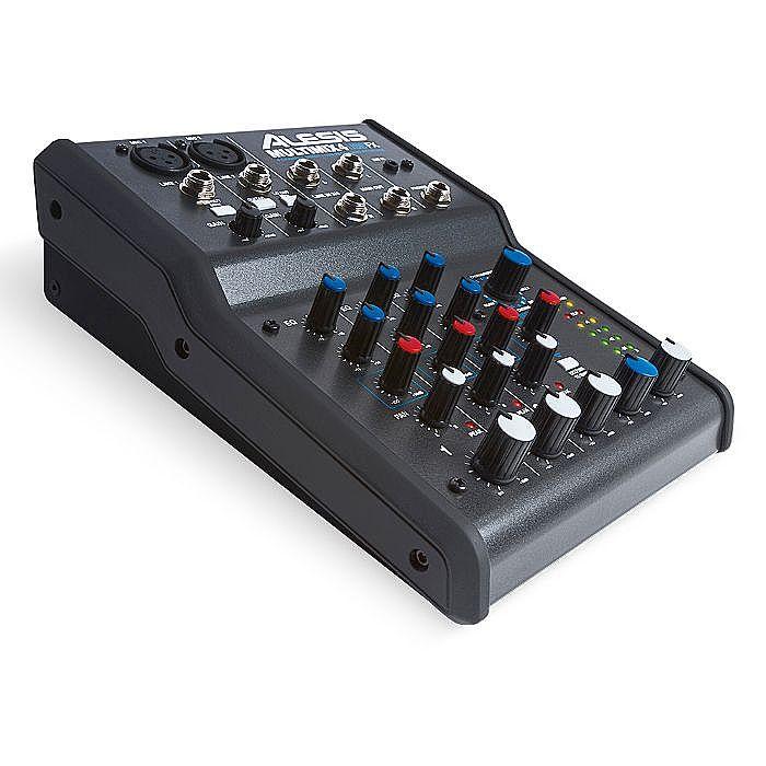 Alesis Alesis Multimix 4 Usb Fx 4 Channel Mixer With Cubase 7 Le Audio Production Software Vinyl