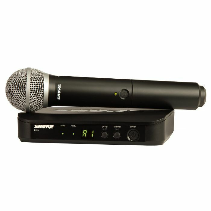 SHURE - Shure BLX24UK PG Vocal Wireless System With PG58 Microphone