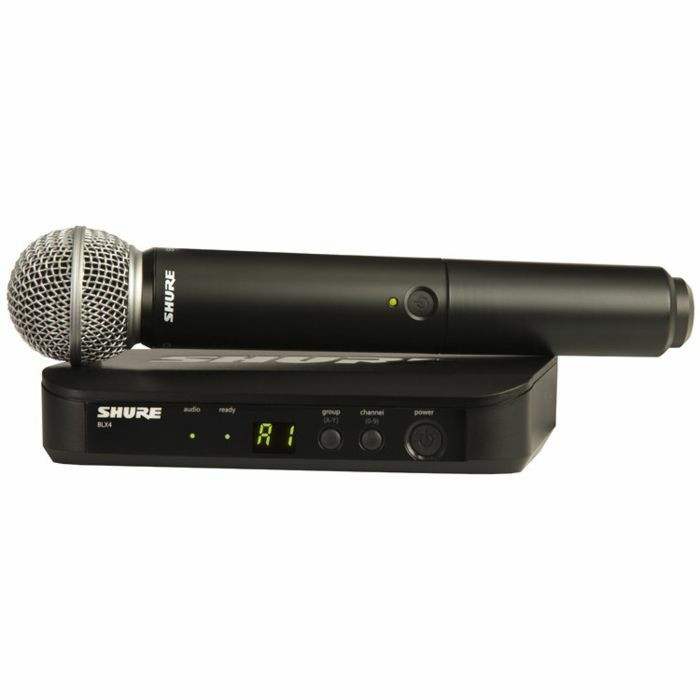 SHURE - Shure BLX24UK SM Wireless Vocal System With SM58 Microphone