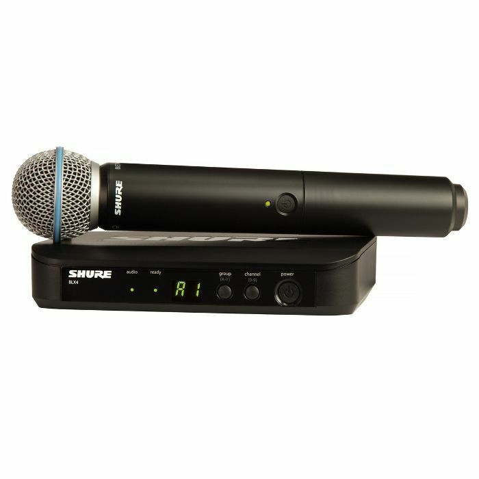SHURE - Shure BLX24UK Beta Vocal Wireless System With Beta 58A Microphone