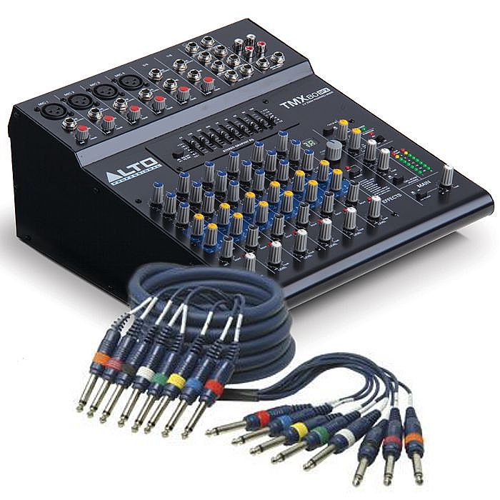 Enjoyable Alto Qtx Sound Alto Tmx80 8 Channel Powered Mixer With Digital Fx Wiring Cloud Hisonuggs Outletorg