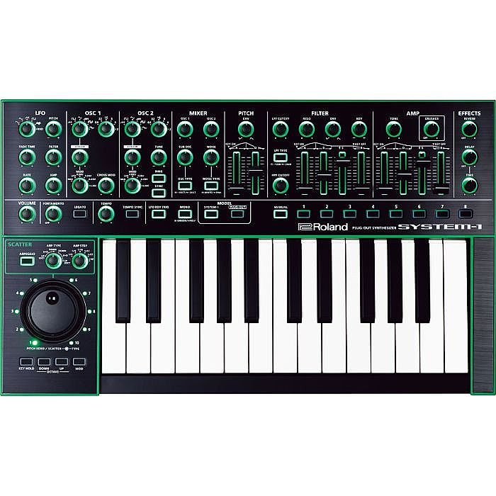 ROLAND - Roland Aira System 1 Plug Out Synthesizer