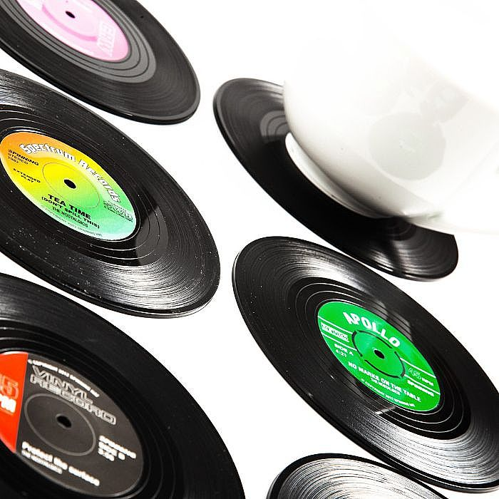 Spinning Hat Spinning Hat Vinyl Coasters Pack Of 6 Vinyl