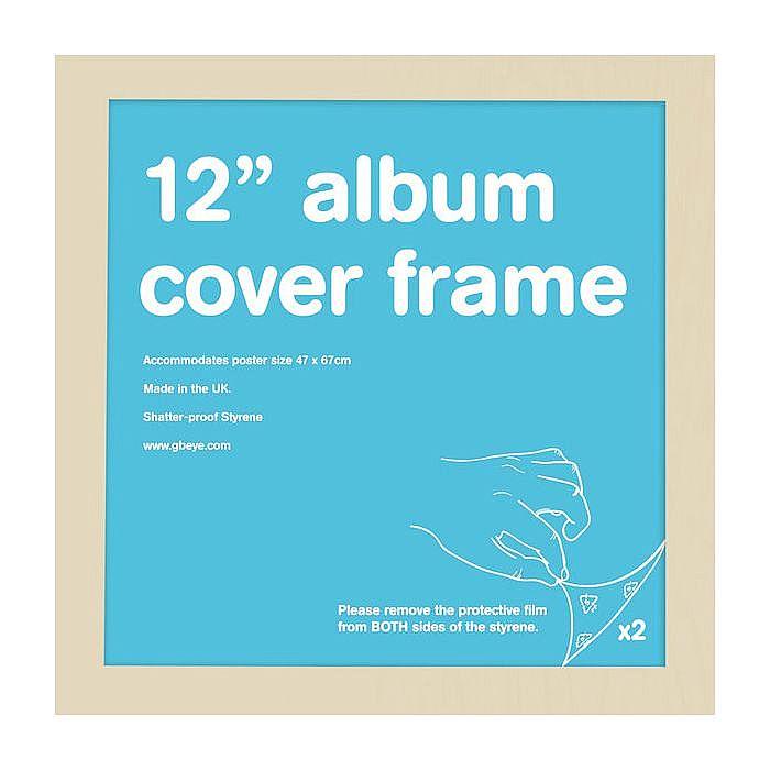 GB EYE GB Eye 12 Inch Album Cover Vinyl Frame (beech) vinyl at Juno ...
