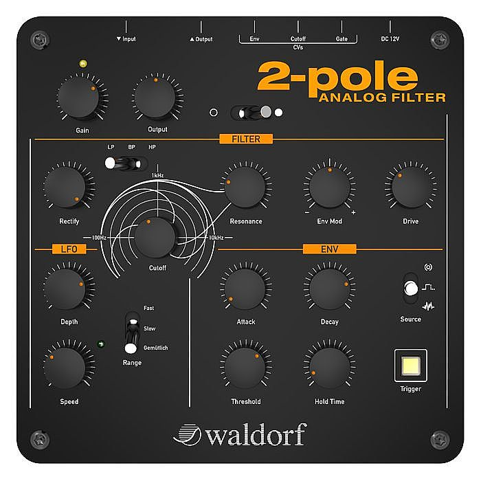 WALDORF - Waldorf 2 Pole Analog Filter With The Waldorf Edition LE Software