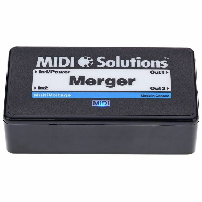 MIDI SOLUTIONS - MIDI Solutions Merger 2 In 2 Out MIDI Merge Box V2