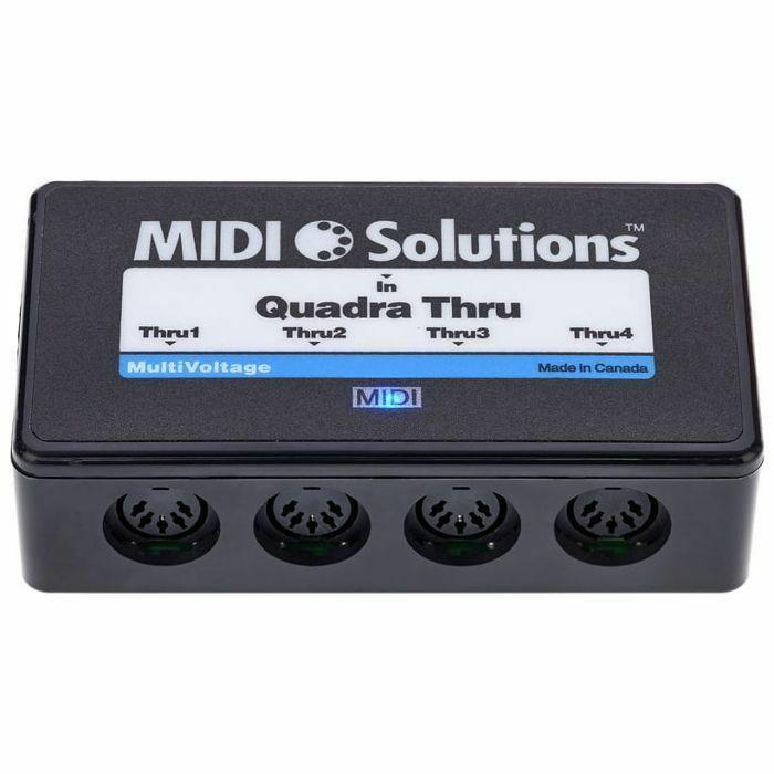 MIDI SOLUTIONS - MIDI Solutions Quadra Thru V2