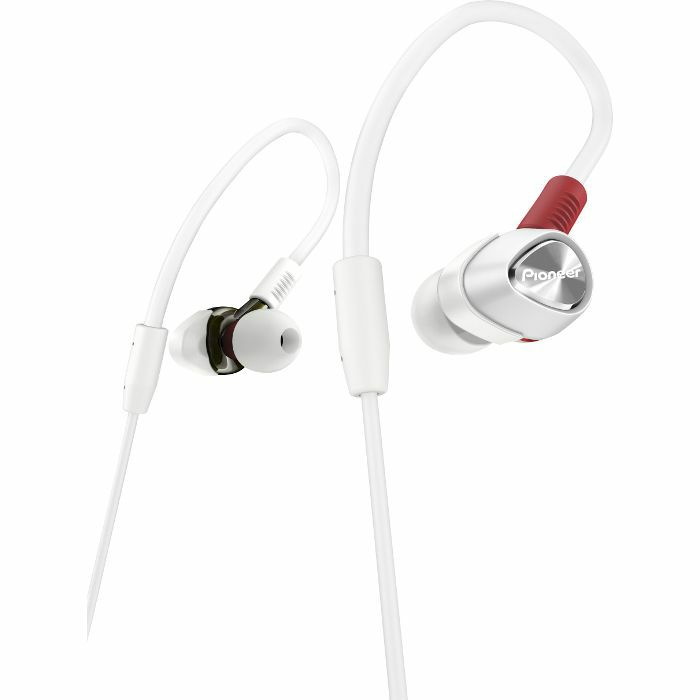 PIONEER - Pioneer DJE2000 In Ear DJ Headphones (white)