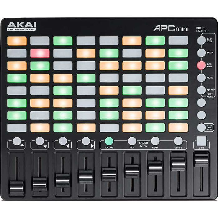 AKAI - Akai APC Mini Ableton Live Controller With Ableton Live Lite Software