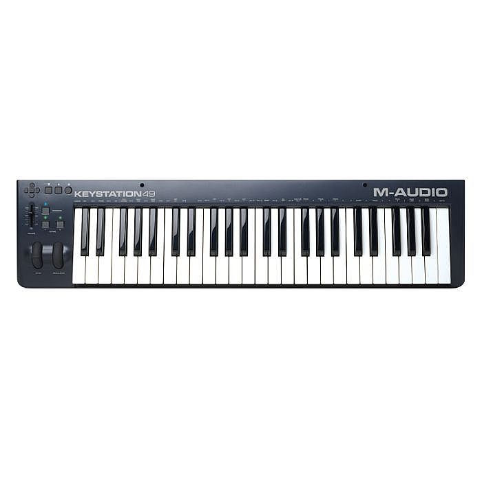 M AUDIO - M Audio Keystation 49 MkII USB MIDI Keyboard Controller With Ableton Live Lite Software ***PICK & MIX PROMO - INCLUDES 5 FREE PLUGINS - OFFER ENDS 31ST AUGUST 2018***