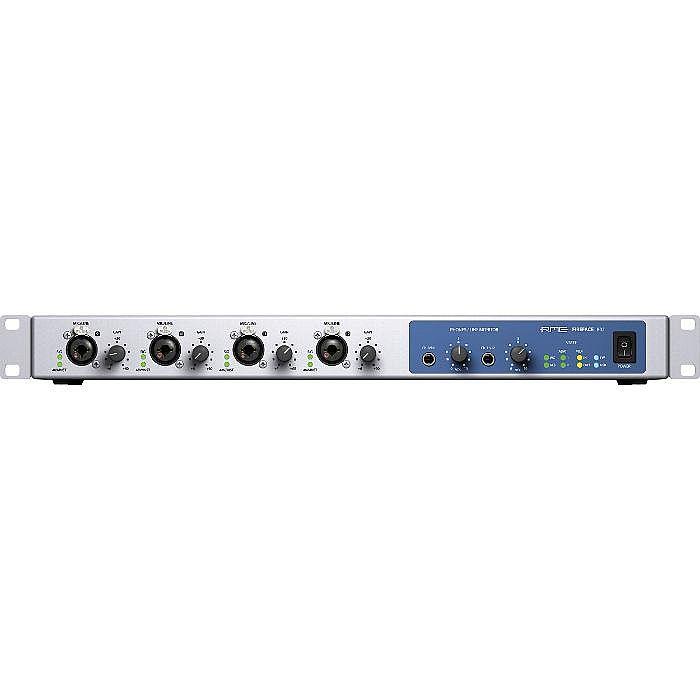 RME - RME Fireface 802 Rackmount USB & Firewire Audio & MIDI Interface