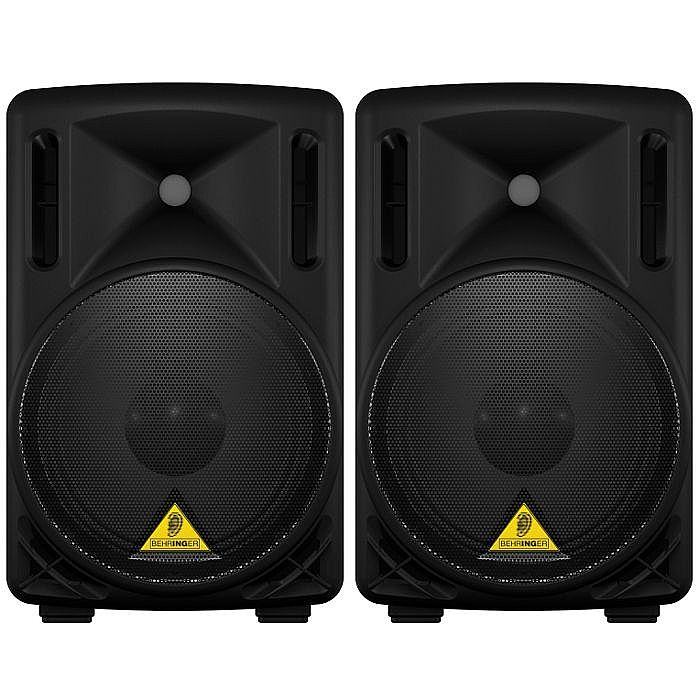 BEHRINGER - Behringer B210D Eurolive Active 2 Way PA Speakers (pair)