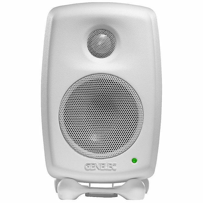 GENELEC - Genelec 8010A Biamplified Active Studio Monitor (single, white)