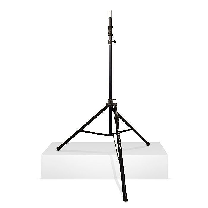 ultimate support ultimate support ts110bl large hydraulic tripod speaker stand with levelling. Black Bedroom Furniture Sets. Home Design Ideas