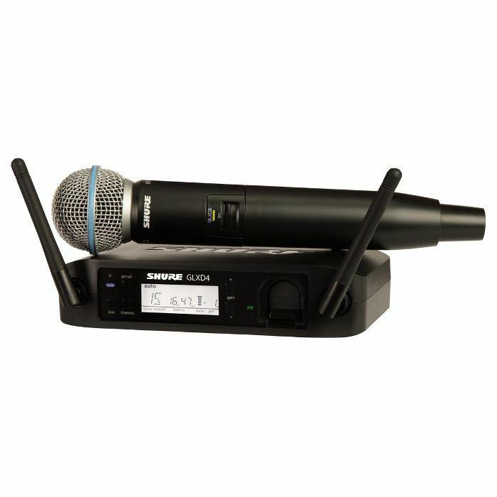 SHURE - Shure GLXD24UK/B58 Beta 58A Digital Wireless Vocal Mic System