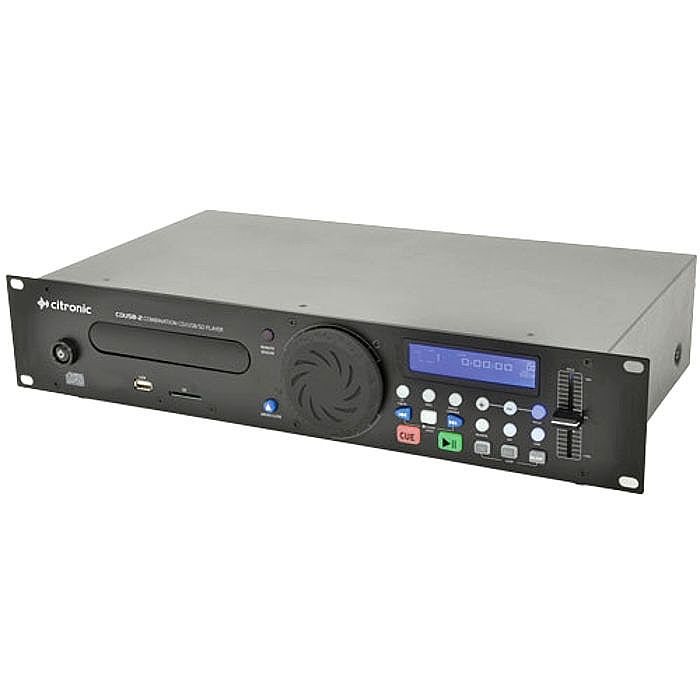 citronic citronic cdusb2 rackmount combination cd usb sd player vinyl at juno records. Black Bedroom Furniture Sets. Home Design Ideas