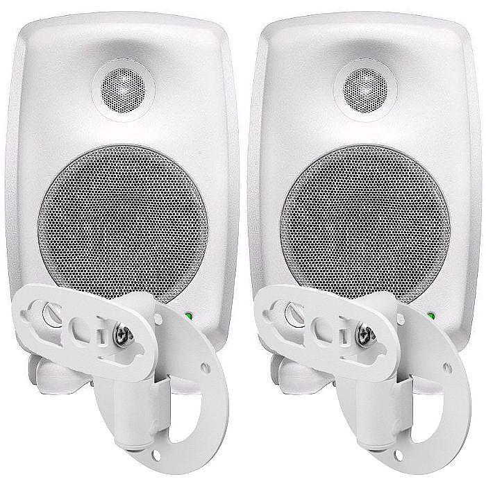 genelec genelec 8020 cwm two way active studio monitors pair white genelec 8000 422w wall. Black Bedroom Furniture Sets. Home Design Ideas