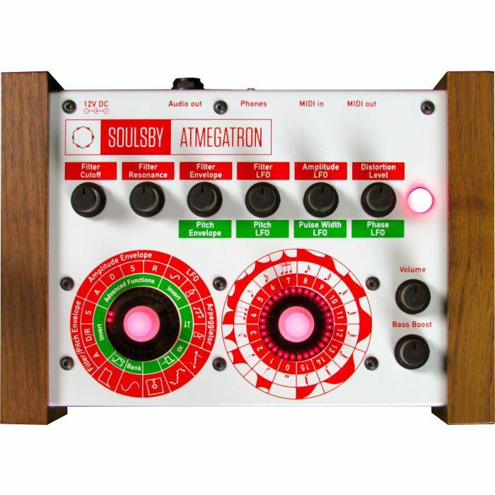 SOULSBY - Soulsby Atmegatron V2 Complete 8 Bit Monophonic MIDI Synthesizer