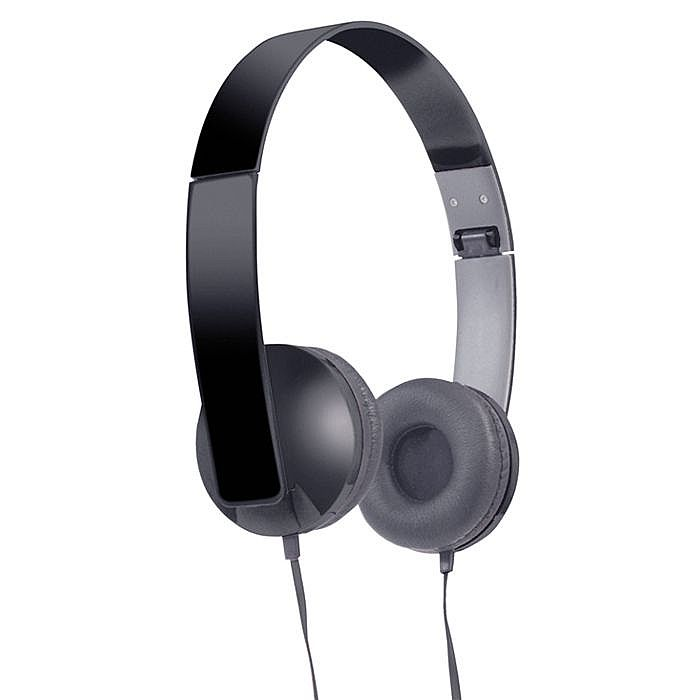 SOUND LAB - Sound LAB Slim Profile Folding Stereo Headphones (black)