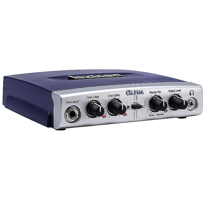 LEXICON - Lexicon Alpha 2x2x2 Desktop Recording Studio Audio Interface + Steinberg Cubase LE 4 Audio Production Software (B-STOCK)