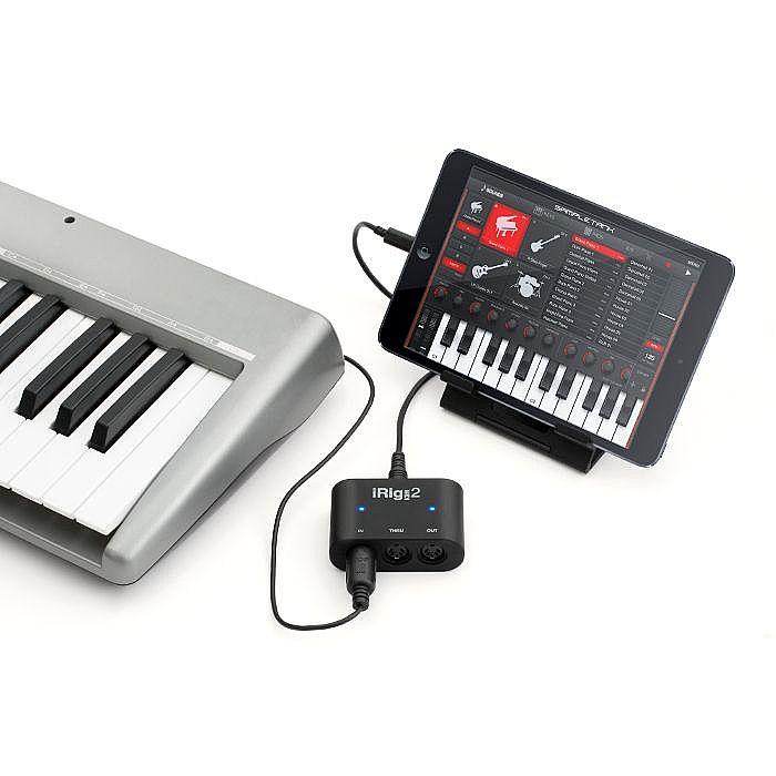 IK Multimedia iRig MIDI 2 Interface For iOS Mac & PC With Music Creation  App Bundle