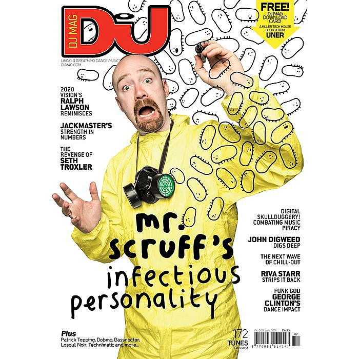 DJ MAGAZINE - DJ Magazine July 2014: #535 Get A Move On! (incl. FREE Uner download card)
