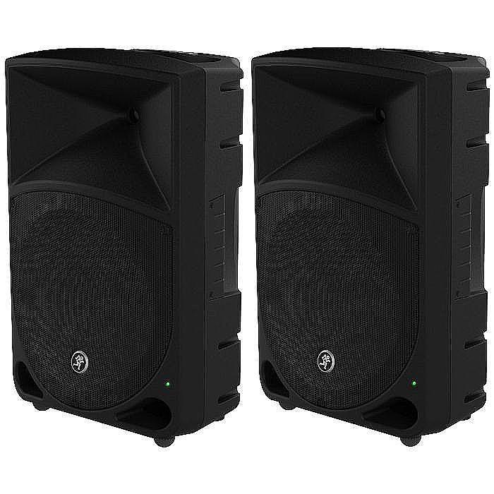 Mackie Mackie Thump 12 Powered Pa Speakers Pair Vinyl At