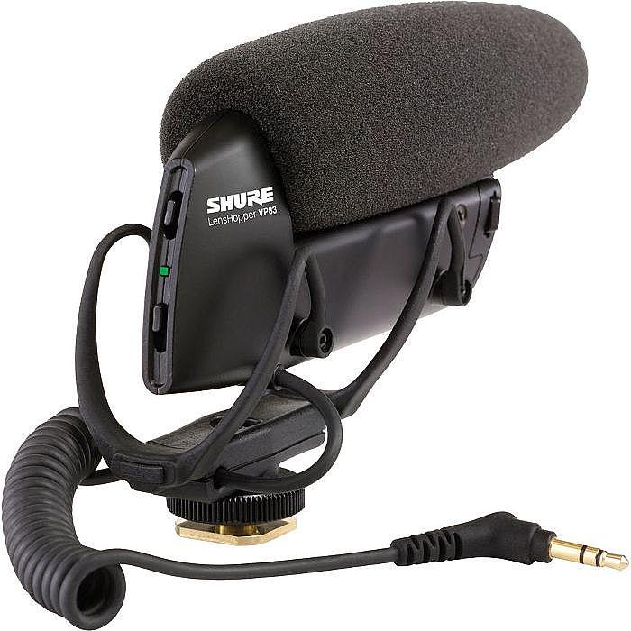 SHURE - Shure VP83 Lens Hopper Camera Mount Condenser Microphone