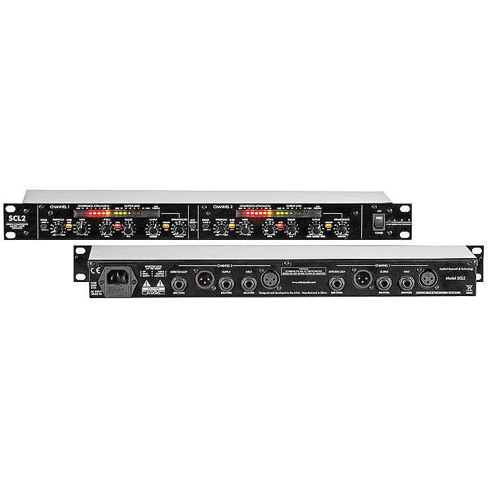 ART - ART SCL2 Dual Stereo Rackmount Compressor Limiter Expander Gate Unit