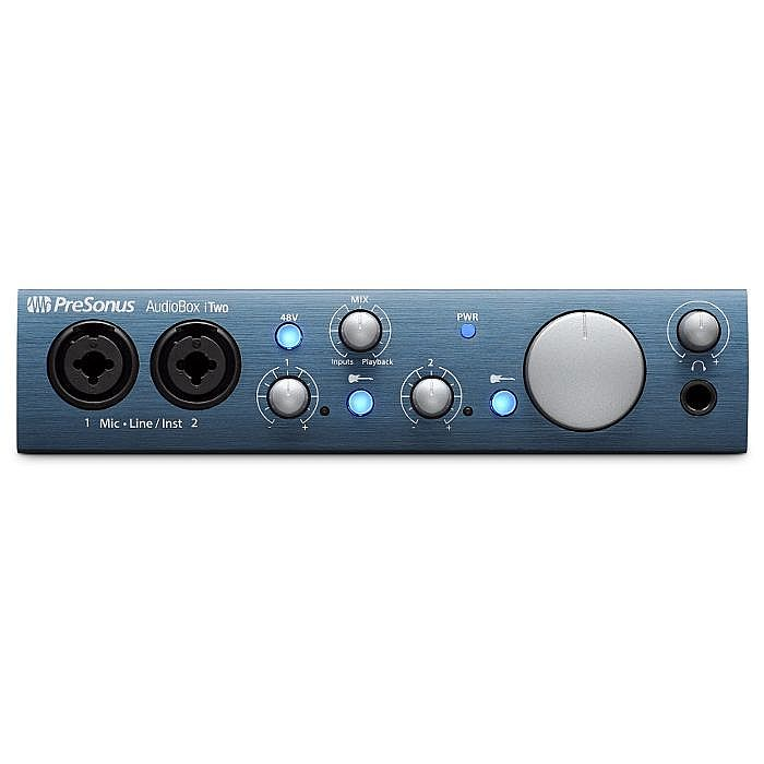PRESONUS - Presonus AudioBox iTwo Audio & MIDI Interface for PC Mac & iPad With Studio One Artist Software *** FREE STUDIO ONE PREMIUM ADD-ON BUNDLE WITH THIS PRODUCT UNTIL 31st DECEMBER 2020 ***