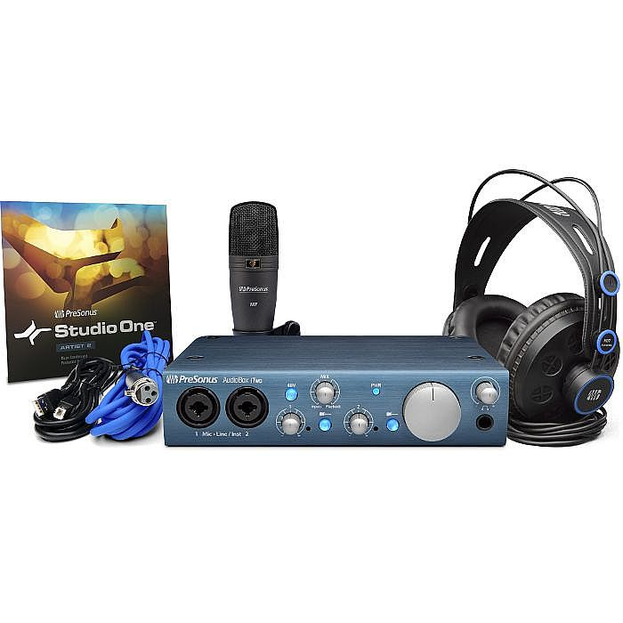 PRESONUS - Presonus AudioBox iTwo Studio Recording Kit *** €30 CASHBACK OFF THIS PRODUCT UNTIL 30th NOVEMBER 2021 ***