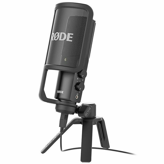 RODE - Rode NT USB Condenser Microphone (black)