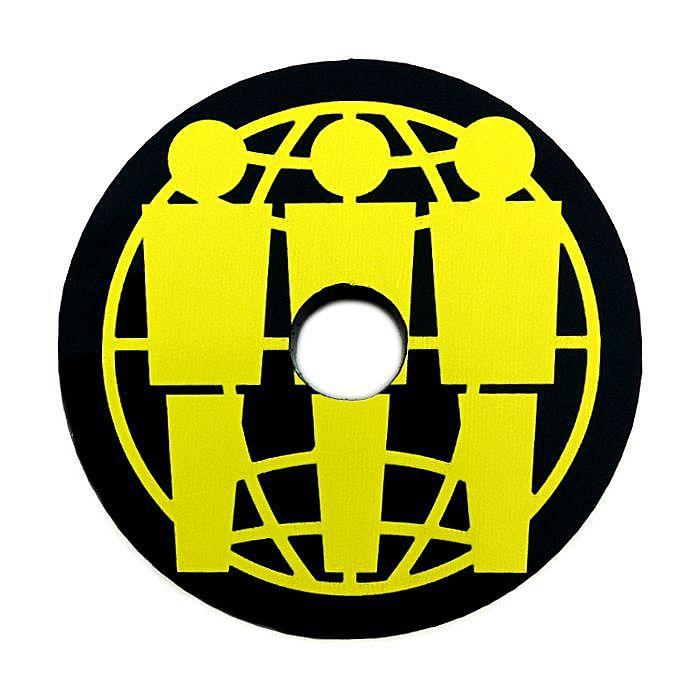 THIRD MAN RECORDS - Third Man Records Plastic 45 RPM Record Adapter (black/yellow)