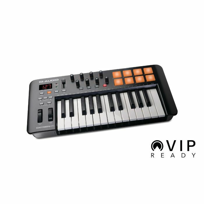 M Audio Oxygen 25 Mk4 USB MIDI Keyboard Controller With Ableton Live Lite &  Sonivox Twist Software
