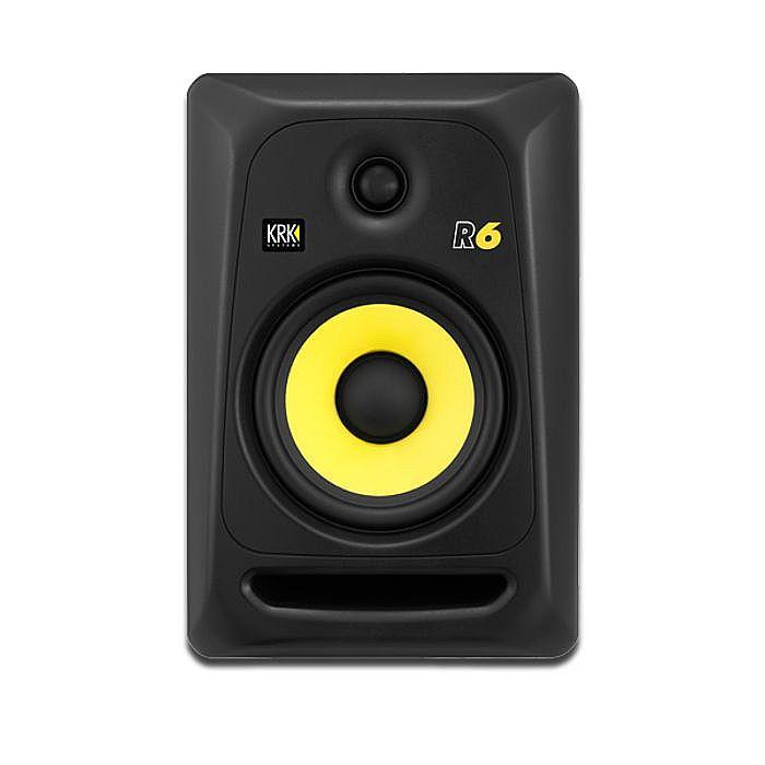 KRK - KRK R6 G3 Passive Reference Monitor Speaker (single, black)