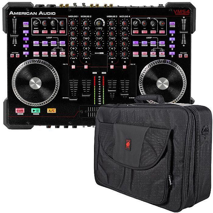 AMERICAN AUDIO/ODYSSEY - American Audio VMS4.1 DJ Controller + Odyssey Redline Series XL DJ Bag (SPECIAL LOW PRICE BUNDLE - SAVE OVER £10)