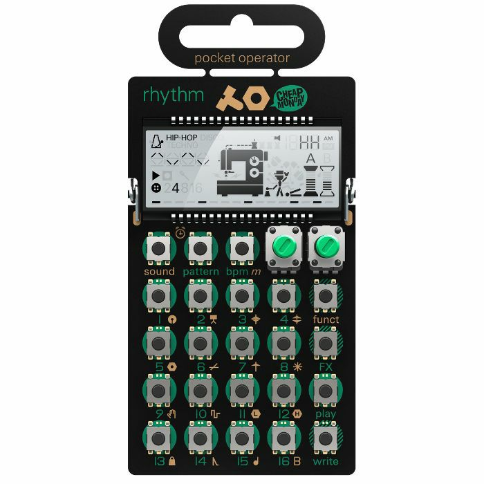 TEENAGE ENGINEERING/CHEAP MONDAY - Teenage Engineering/Cheap Monday PO12 Pocket Operator Rhythm Drum Machine