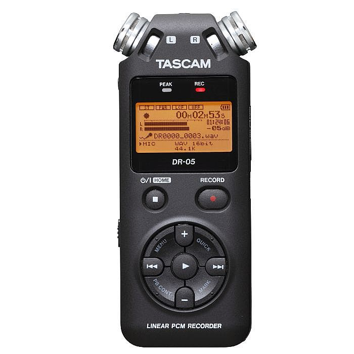 TASCAM - Tascam DR 05V2 Digital Audio Recorder With 4GB Micro SD Card
