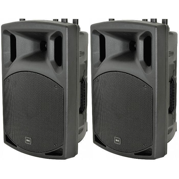 QTX - QTX QX12A Active PA Speakers (pair)