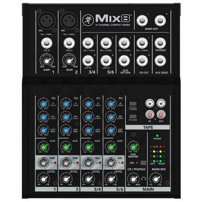 MACKIE - Mackie Mix8 Compact Mixer