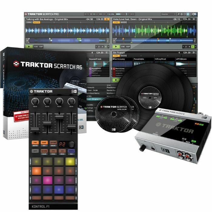 native instruments native instruments traktor scratch a6 digital vinyl system traktor kontrol. Black Bedroom Furniture Sets. Home Design Ideas