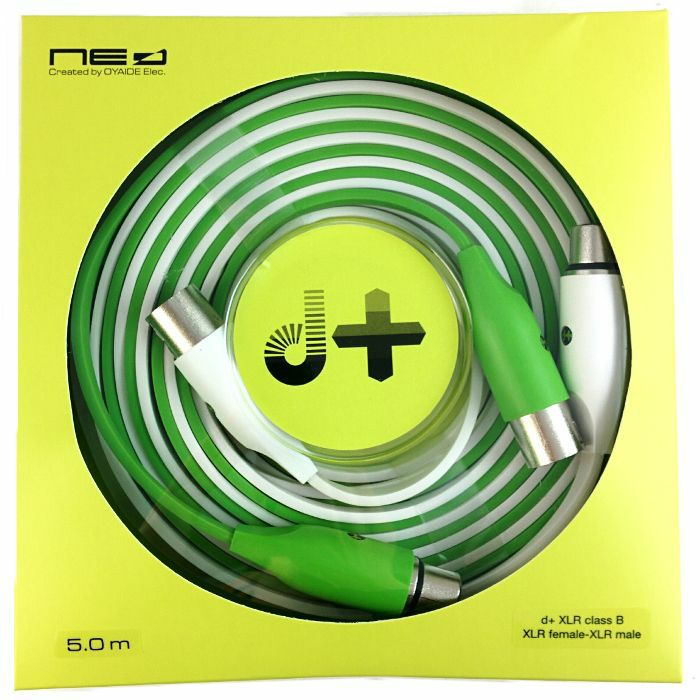 NEO - Neo d+ XLR Class B - XLR (female) To XLR (male) Audio Cable (5.0m, pair)