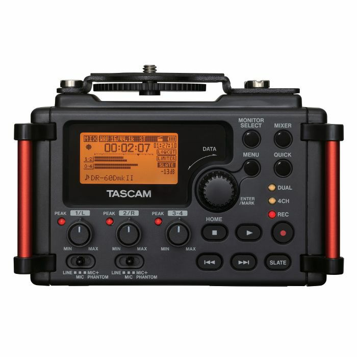 TASCAM - Tascam DR 60D MKII Portable Recorder For DSLR Cameras