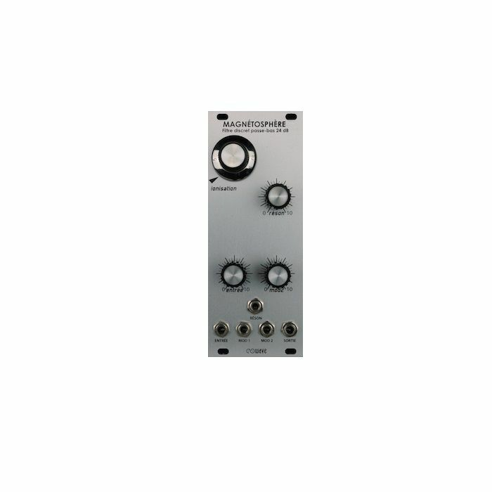 EOWAVE - Eowave Magnetosphere 24dB Transistor Lowpass Filter Module (silver edition)