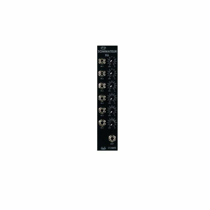 EOWAVE - Eowave Sommateur X6 Audio Mixer Module (black edition)