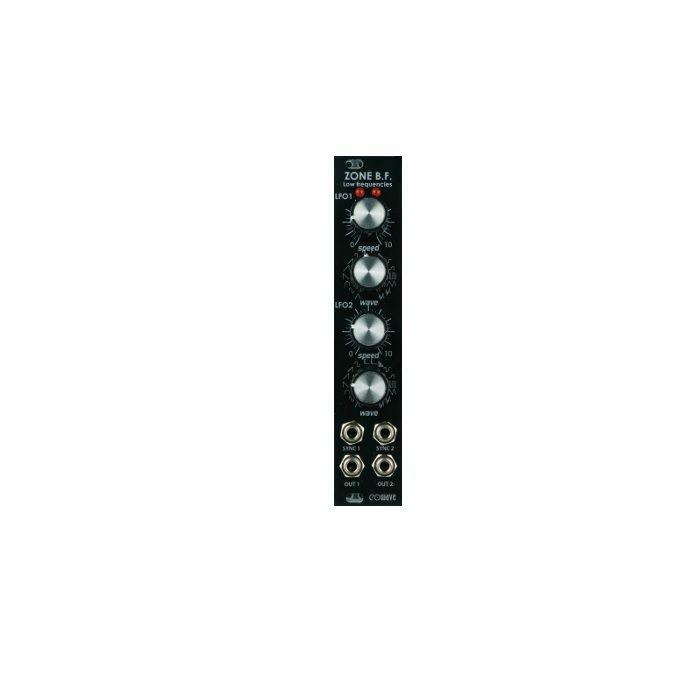 EOWAVE - Eowave Zone BF Dual LFO Module (black edition)