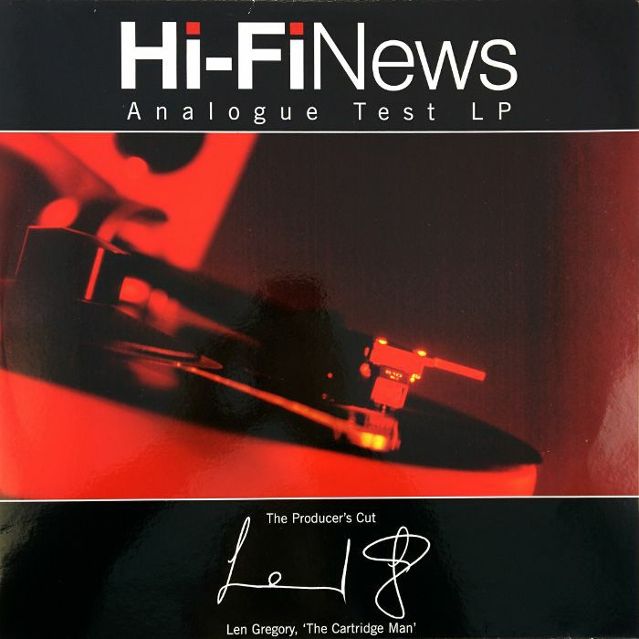 GREGORY, LEN - Hi Fi News Analogue Test LP - The Producers Cut